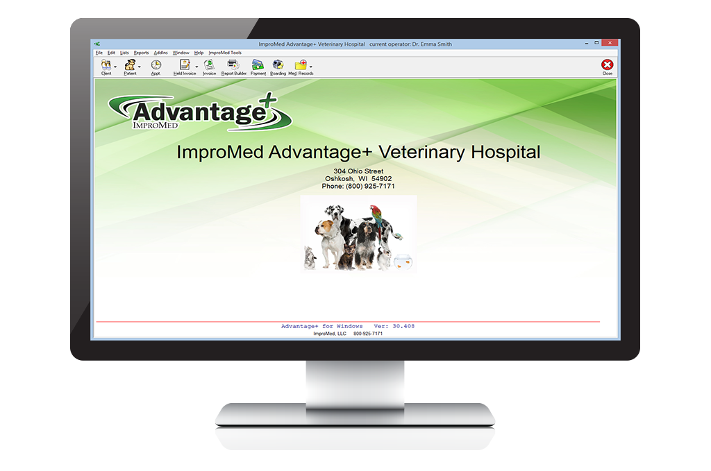 Advantage+ Practice Management Software